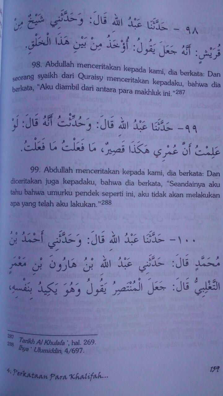 Buku Ketika Ajal Tiba 123.000 20% 98.400 Pustaka Azzam Ibnu Abi Ad-Dunya isi 3