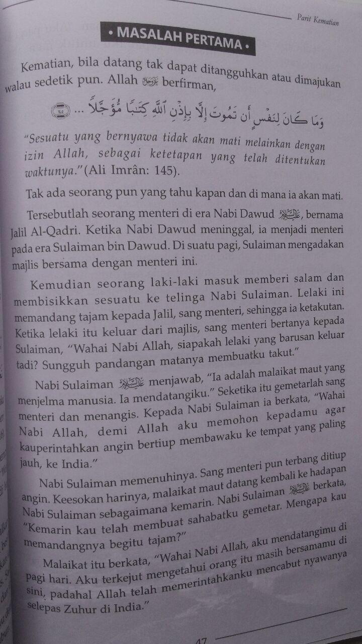 Buku Malam Pertama Di Alam Kubur 39.000 15% 33.150 Aqwam Muhammad bin Abdurrahman Al-Uraify isi 3