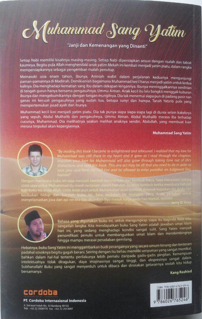 Buku Muhammad Sang Yatim Janji Dan Kemenangan Yang Dinanti 99.000 20% 79.200 Cordoba Muhammad Sameh Said cover