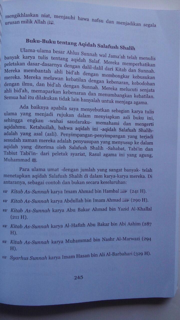 Buku Mukhtashar Aqidah Islam Aqidah Ahlus Sunnah 89.000 20% 71.200 Pustaka Elba Abdullah bin Abdul Hamid, Muhammad bin Ibrahim Al-Hamd isi 3