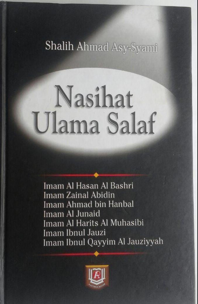 Buku Nasihat Ulama Salaf 207.000 20% 165.600 Pustaka Azzam Shalih Ahmad Asy-Syami cover 3