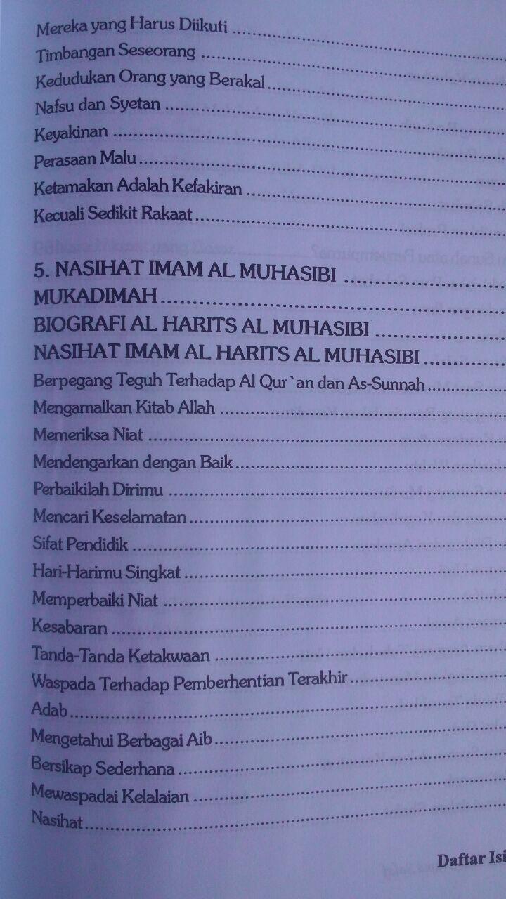 Buku Nasihat Ulama Salaf 207.000 20% 165.600 Pustaka Azzam Shalih Ahmad Asy-Syami isi 2