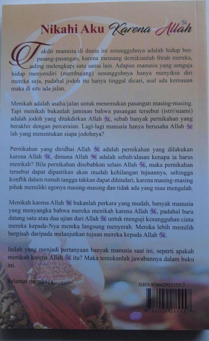 Buku Nikahi Aku Karena Allah 45.000 15% 38.250 Akbar Media Isham Muhammad Syarif As-Salafi, dkk cover