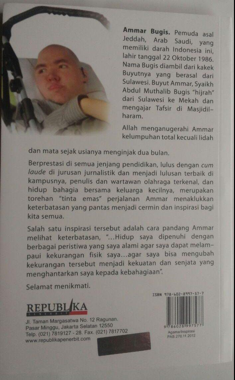 Buku Penakluk Kemustahilan Perjuangan Pemuda Khusus 45.000 15% 38.250 Republika Ammar Bugis cover