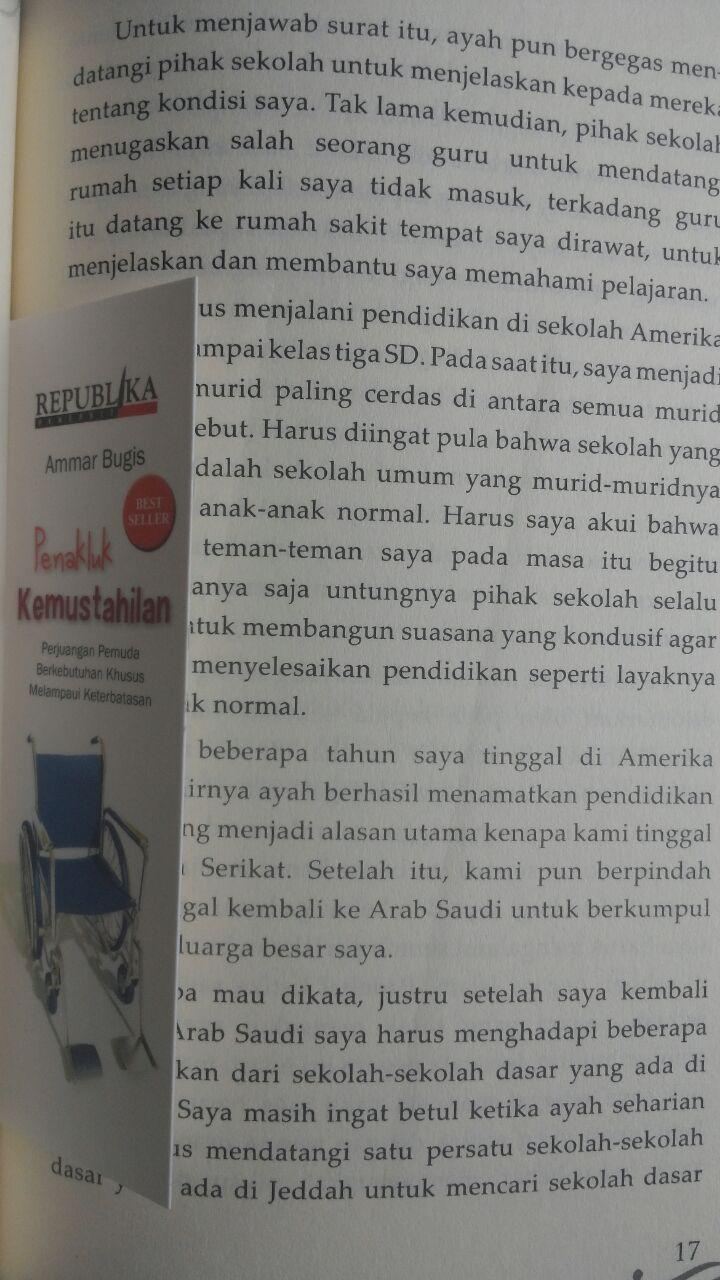 Buku Penakluk Kemustahilan Perjuangan Pemuda Khusus 45.000 15% 38.250 Republika Ammar Bugis isi 4