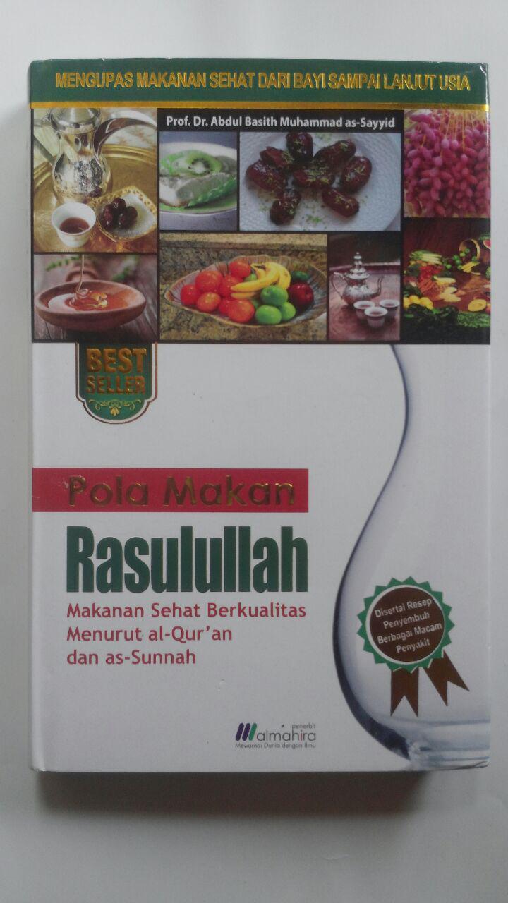 Buku Pola Makan Rasulullah Makanan Sehat Berkualitas 75.000 20% 60.000 Almahira cover 2