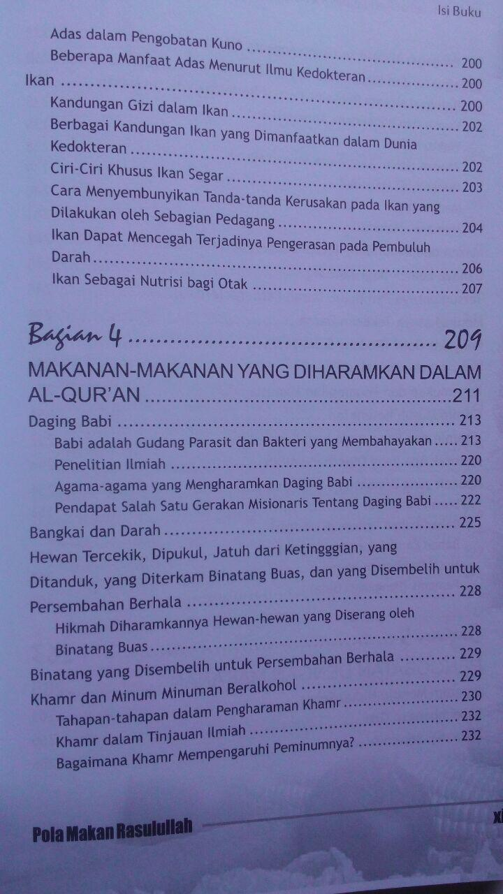 Buku Pola Makan Rasulullah Makanan Sehat Berkualitas 75.000 20% 60.000 Almahira isi
