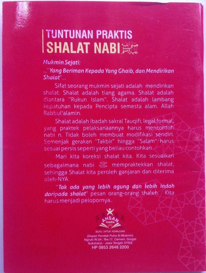 Buku Saku Tuntunan Praktis Shalat Nabi 5.500 15% 4.675 Ahsan Media Abdullah bin Abdurrahman Al Jibri cover