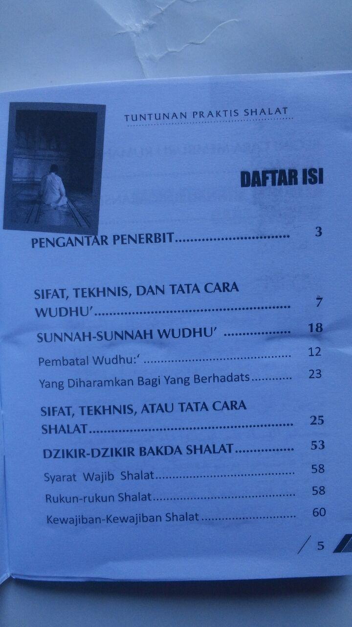 Buku Saku Tuntunan Praktis Shalat Nabi 5.500 15% 4.675 Ahsan Media Abdullah bin Abdurrahman Al Jibri isi 2