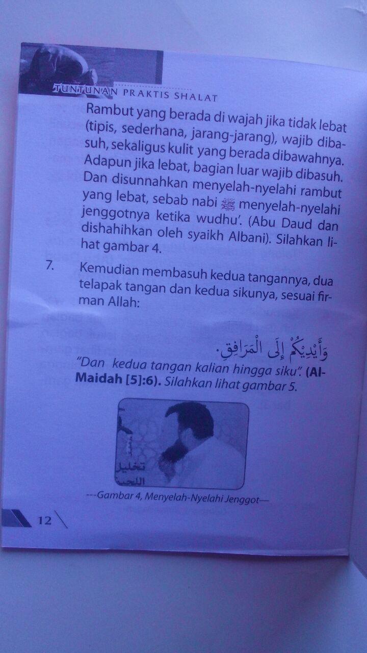 Buku Saku Tuntunan Praktis Shalat Nabi 5.500 15% 4.675 Ahsan Media Abdullah bin Abdurrahman Al Jibri isi 3