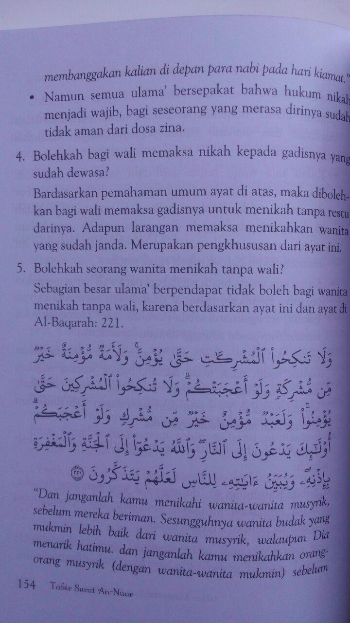 Buku Tahfidz Dan Tafsir Surat An-Nuur Cahaya Rumah Tangga 50.000 20% 40.000 Markaz Al-Quran Abdul Aziz Abdur Rauf isi 3