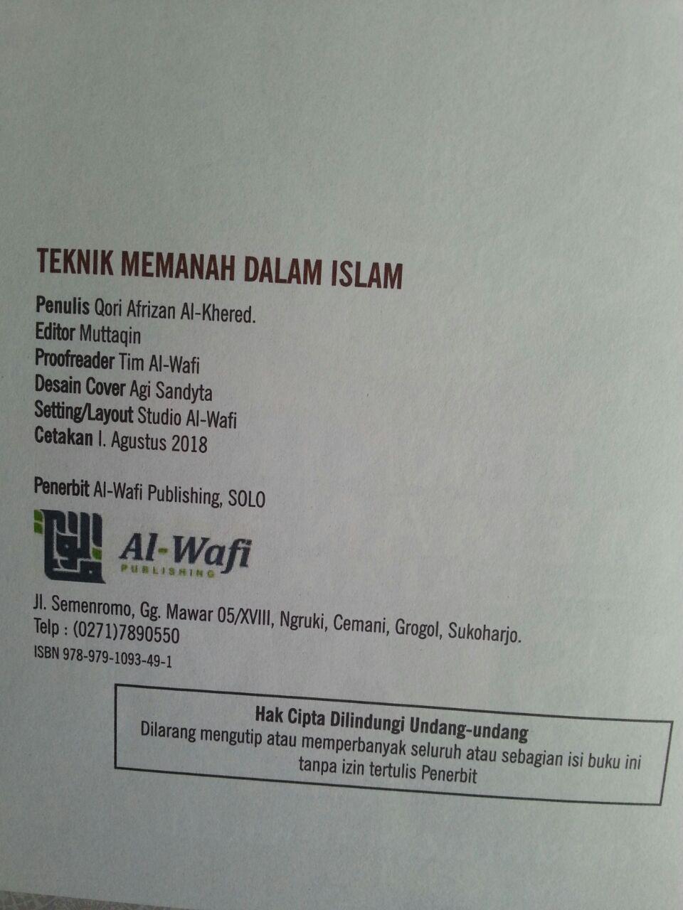Buku Teknik Memanah Dalam Islam Dan Ketangkasan Lain Bergambar isi 2
