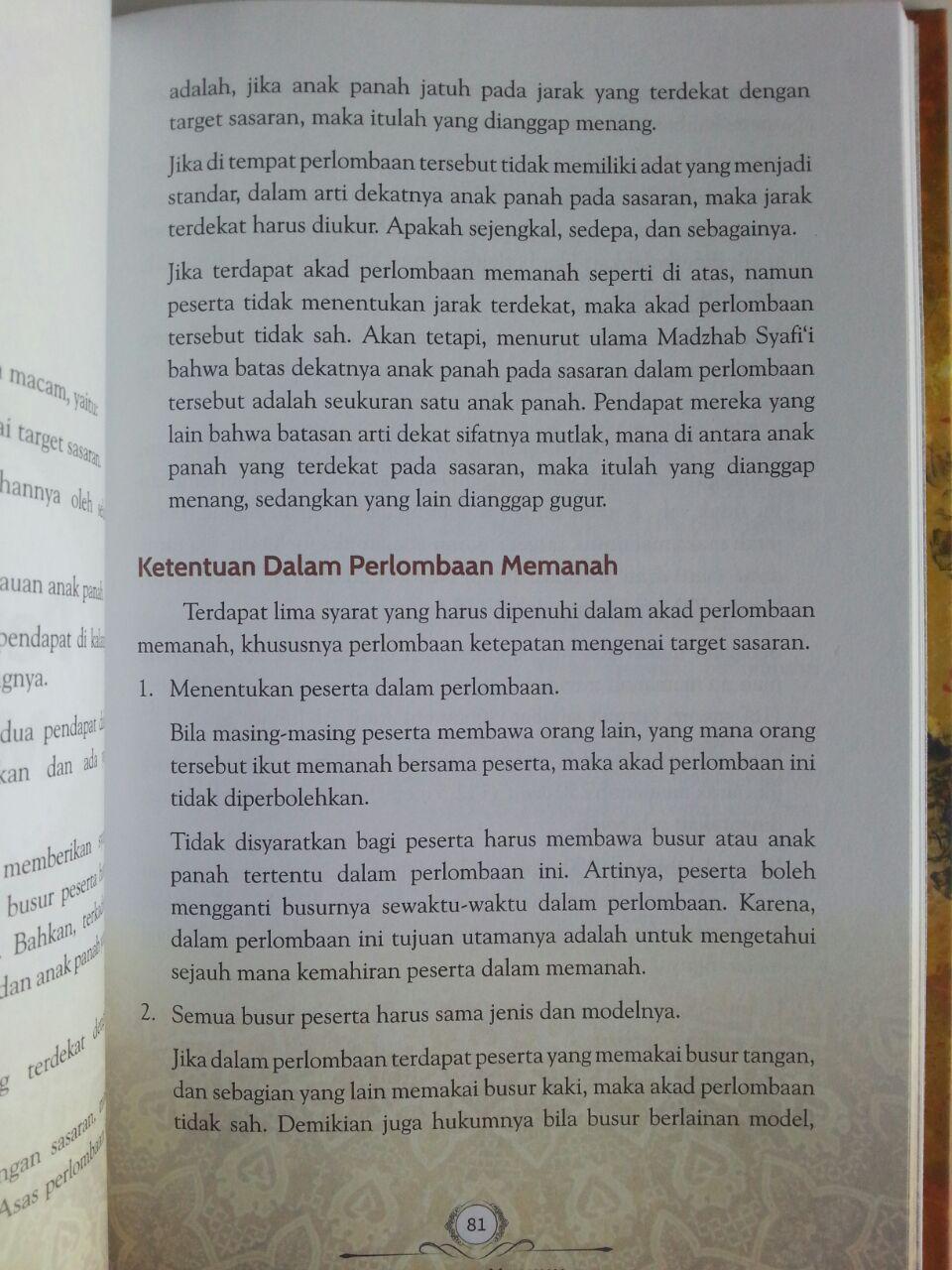 Buku Teknik Memanah Dalam Islam Dan Ketangkasan Lain Bergambar isi 4