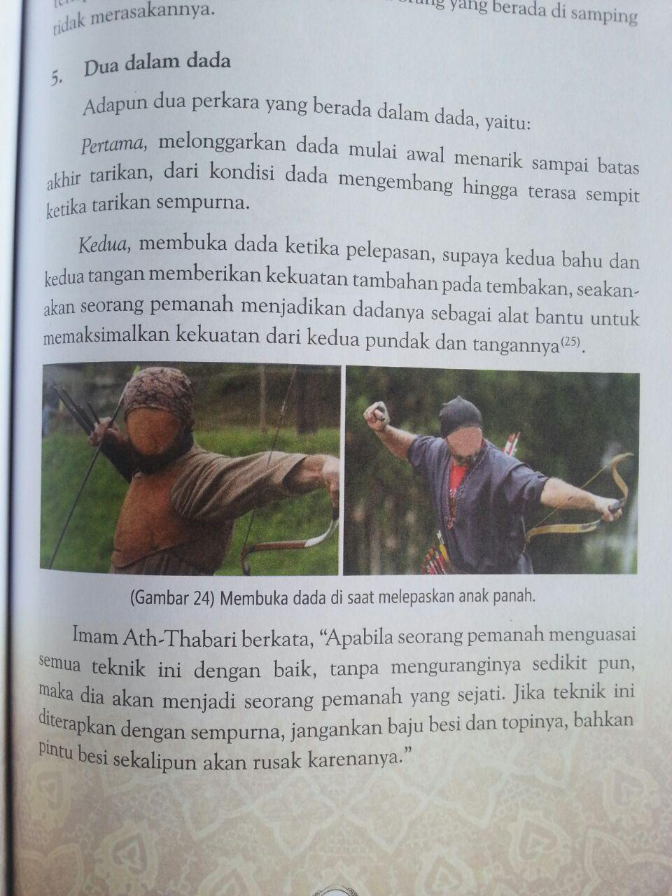 Buku Teknik Memanah Dalam Islam Dan Ketangkasan Lain Bergambar isi 7