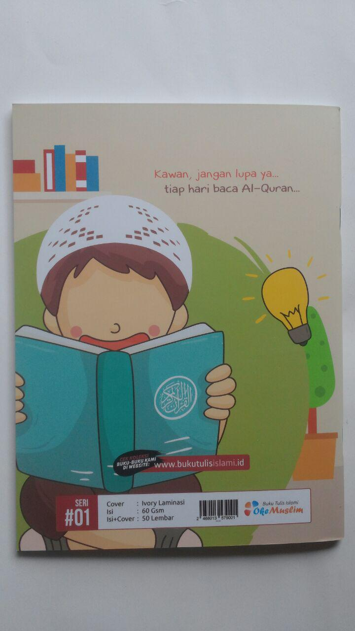 Buku Tulis Islami Al-Quran Pedoman Hidupku 5.000 10% 4.500 Oke Muslim cover