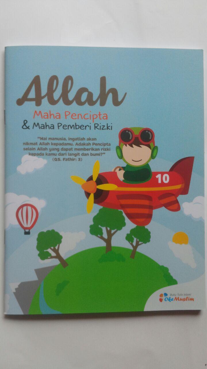 Buku Tulis Islami Allah Maha Pencipta Dan Maha Pemberi Rizki 5.000 10% 4.500 Oke Muslim cover 2