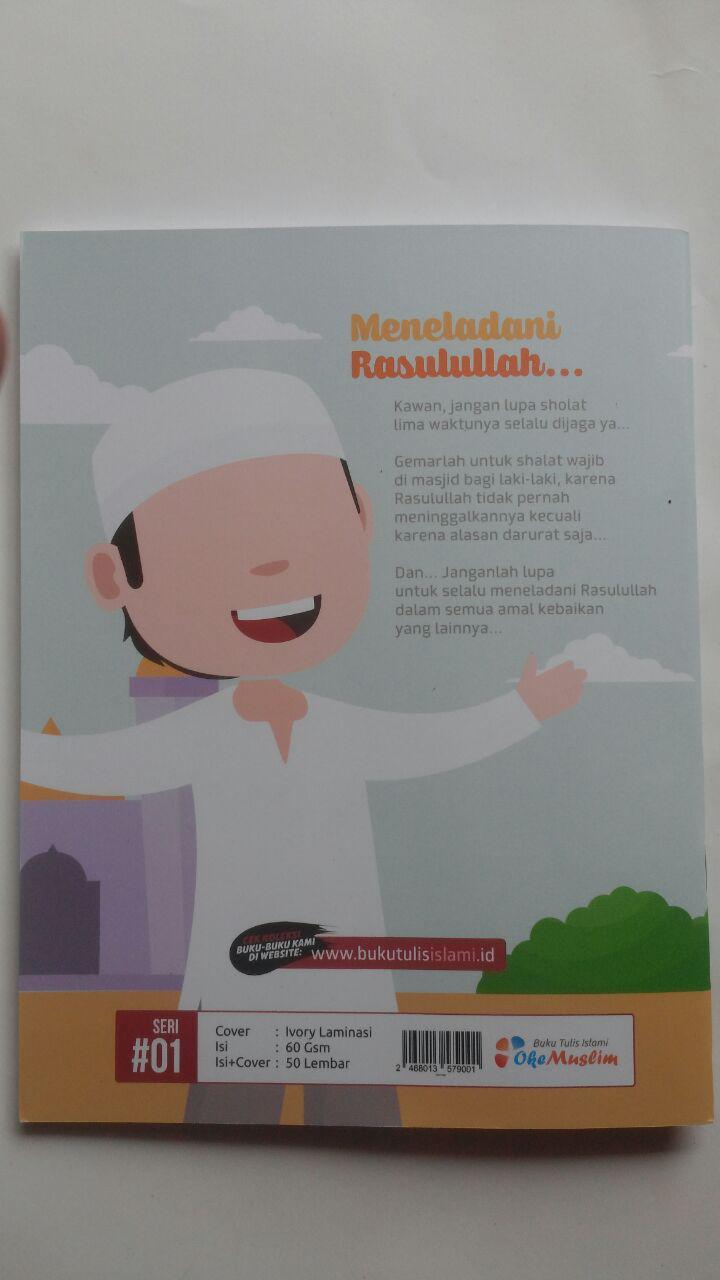 Buku Tulis Islami Rasulullah Teladan Hidupku 5.000 10% 4.500 Oke Muslim cover 2