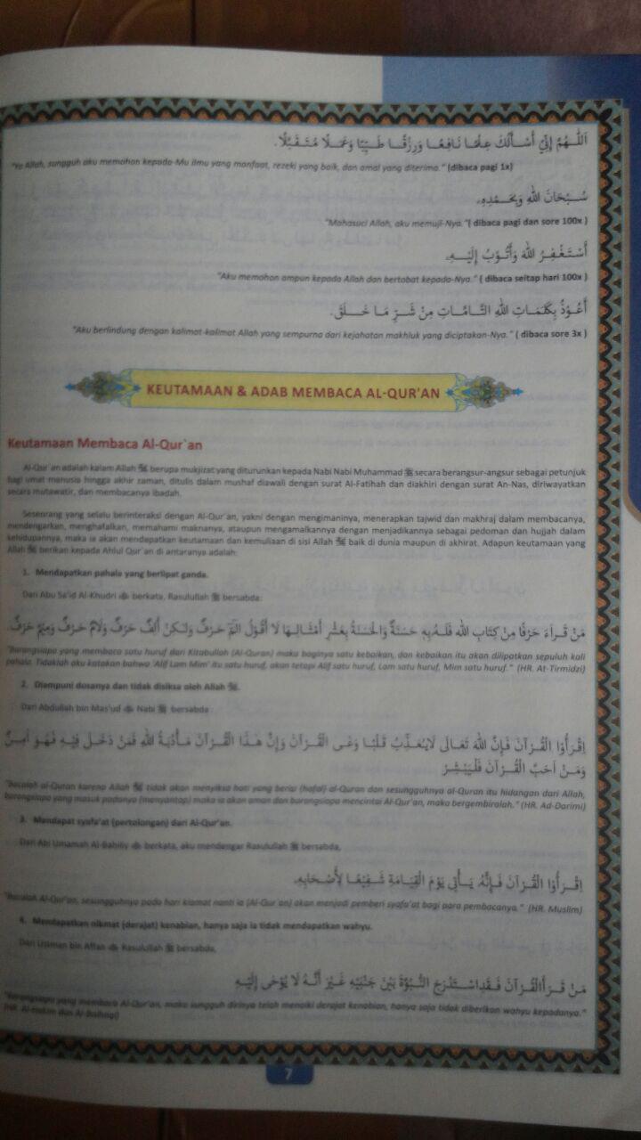 AQ153 Al-Quran Al Fathan Tajwid Warna Tafsir Perkata A5 70.000 15% 59.500 AlFatih Quran isi 2