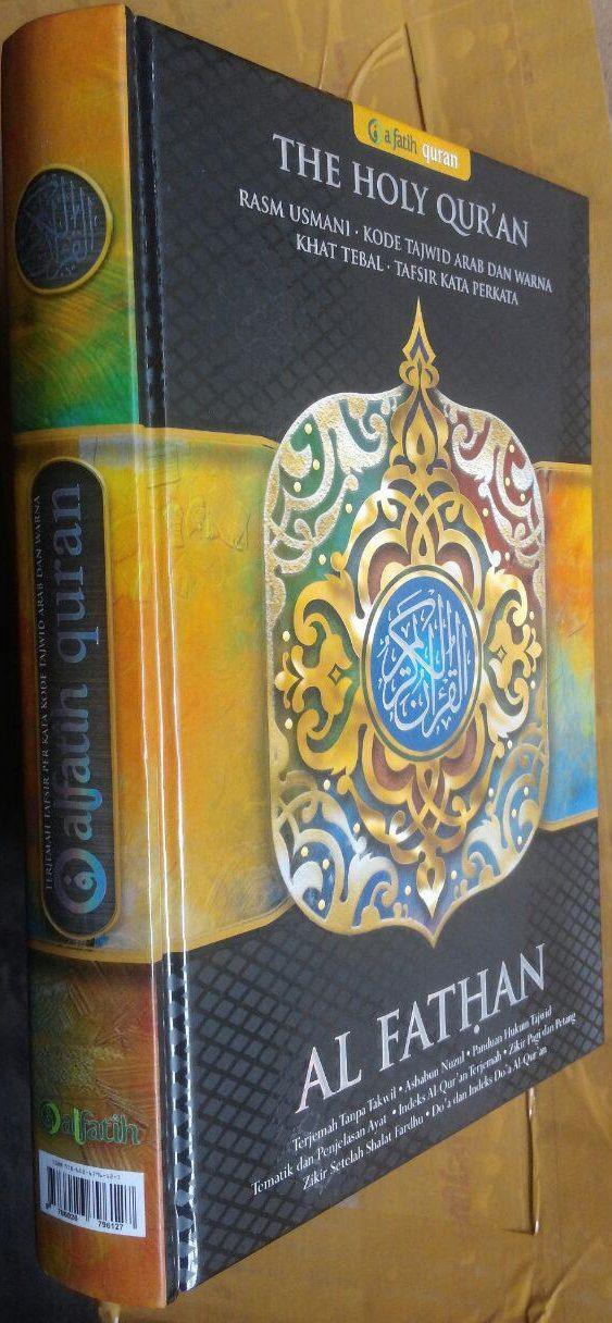 AQ153 Al-Quran Al Fathan Tajwid Warna Tafsir Perkata A5 70.000 15% 59.500 AlFatih Quran isi