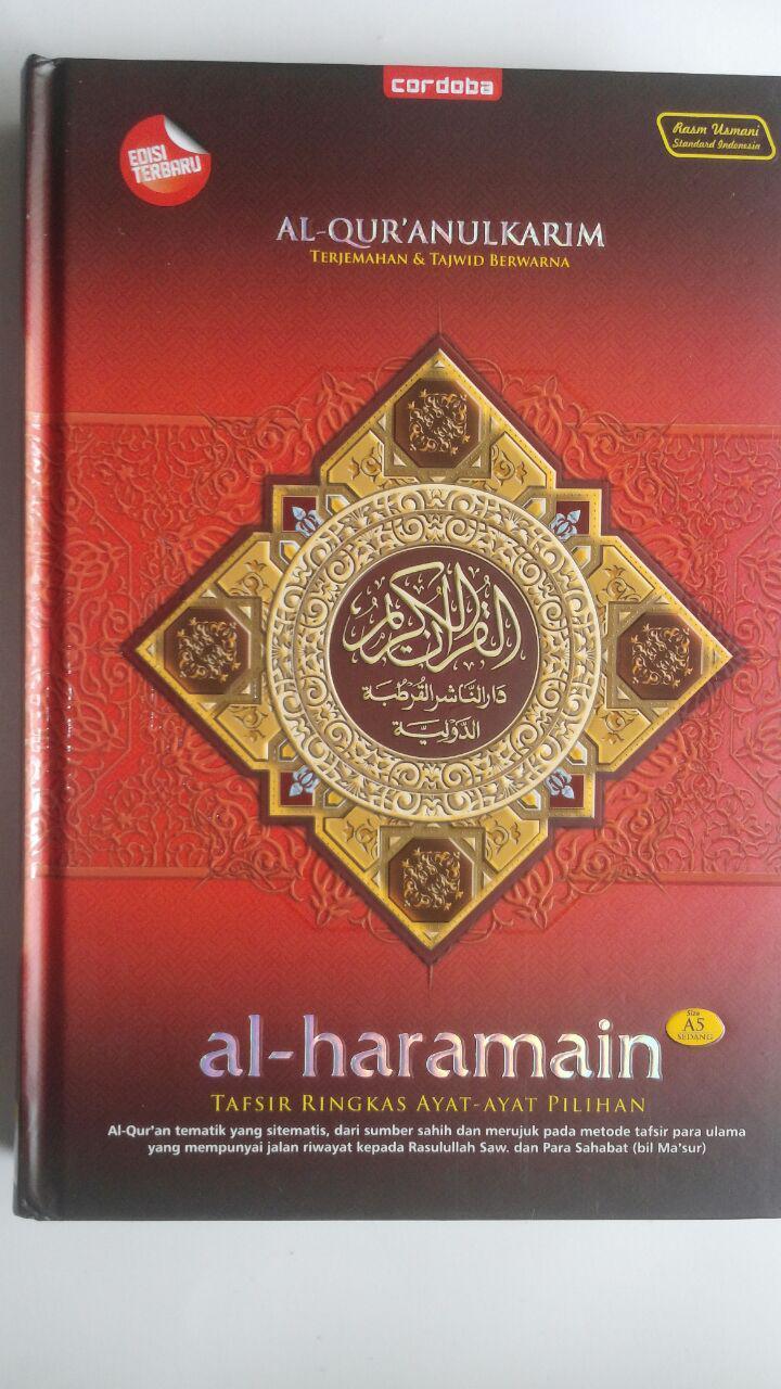 Al-Qur'an Terjemah Tajwid Warna Al-Haramain Tafsir Ringkas A5 79,500 15% 67,575 Cordoba cover 2