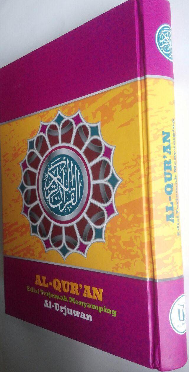 Al-Qur'an Edisi Terjemah Menyamping Al-Urjuwan B5 132,000 15% 112,200 Sapphire cover 2
