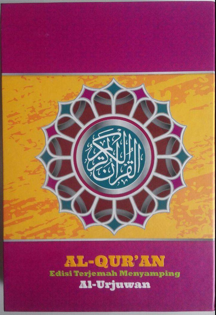 Al-Qur'an Edisi Terjemah Menyamping Al-Urjuwan B5 132,000 15% 112,200 Sapphire cover