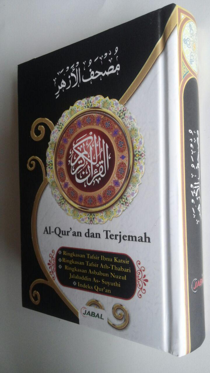 Al-Qur'an Mushaf Al-Azhar Terjemah Tafsir Ukuran A6 29,000 15% 24,650 Jabal cover 2