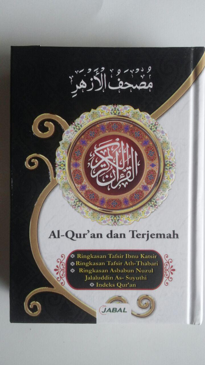 Al-Qur'an Mushaf Al-Azhar Terjemah Tafsir Ukuran A6 29,000 15% 24,650 Jabal cover