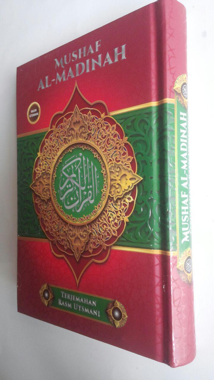 Al-Qur'an Mushaf Al-Madinah Terjemahan Rasm Utsmani A5 72,000 15% 61,200 Cahaya Qur'an Press cover 2