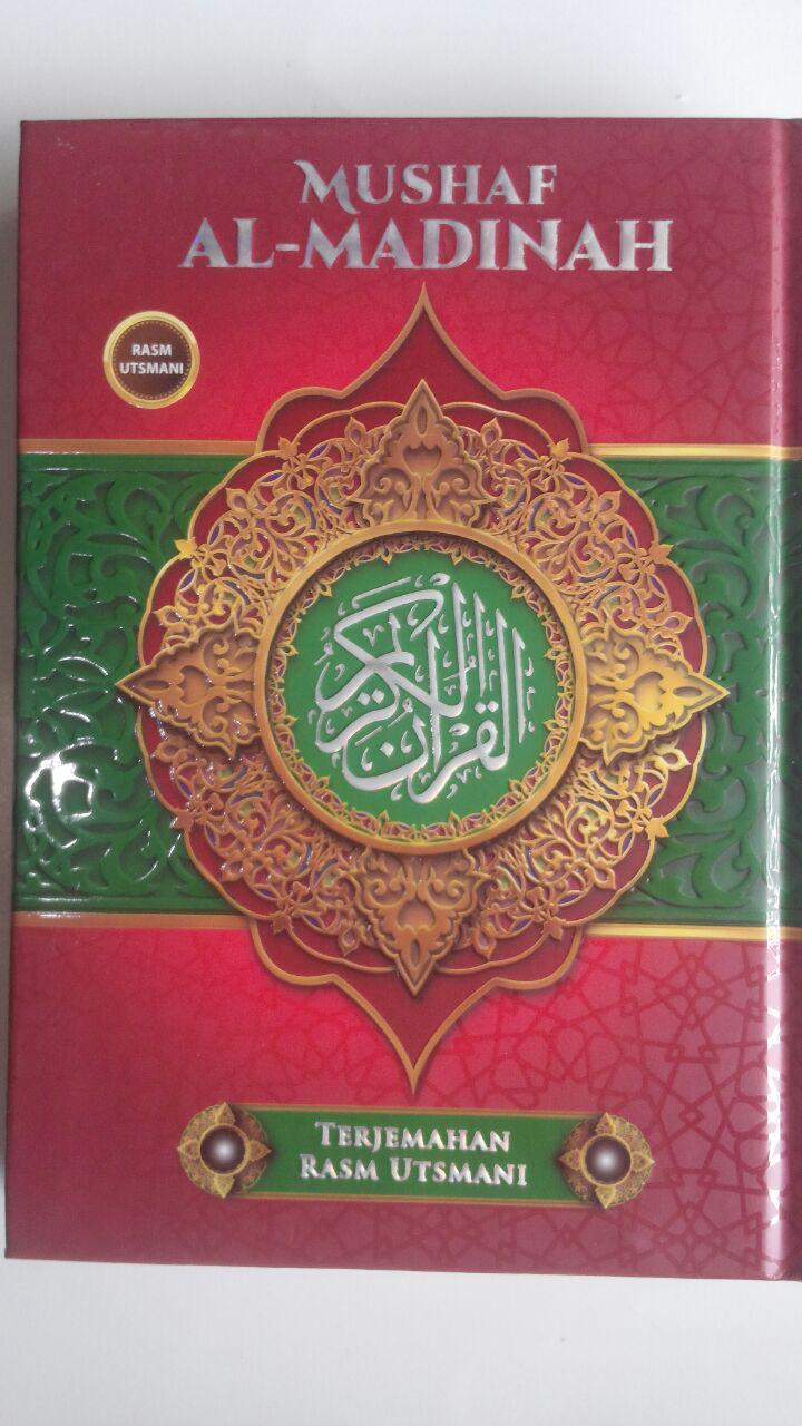 Al-Qur'an Mushaf Al-Madinah Terjemahan Rasm Utsmani A5 72,000 15% 61,200 Cahaya Qur'an Press cover