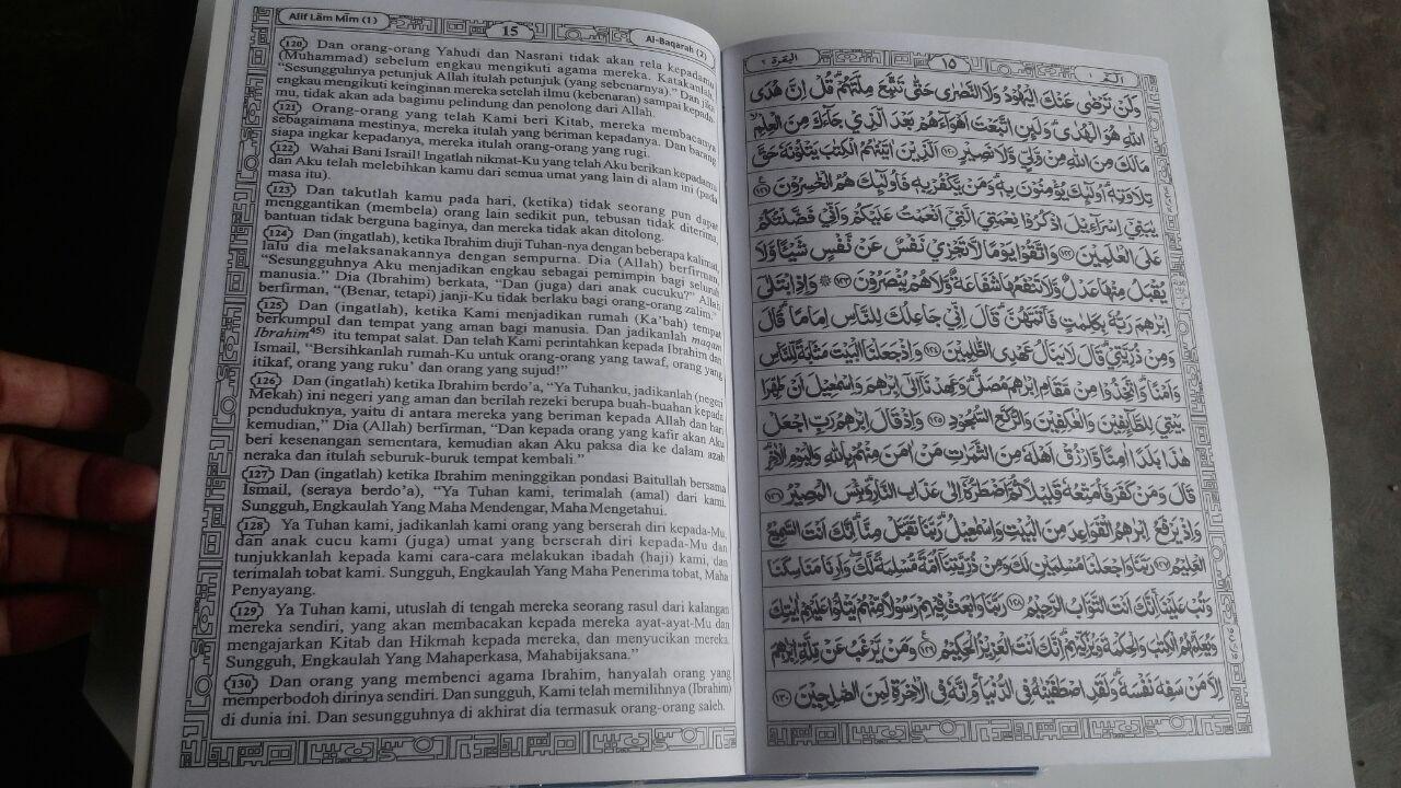 Al-Qur'an Per Juz Mujazza Terjemah Ayat Pojok Garis B5 160.000 10% 144.000 Asy-Syifa' isi