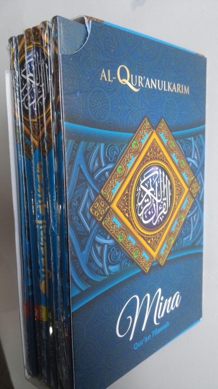 Al-Qur'an Saku Tilawah Tipe Mina Per 5 Juz 69,000 15% 58,650 Sygma Publishing cover 2