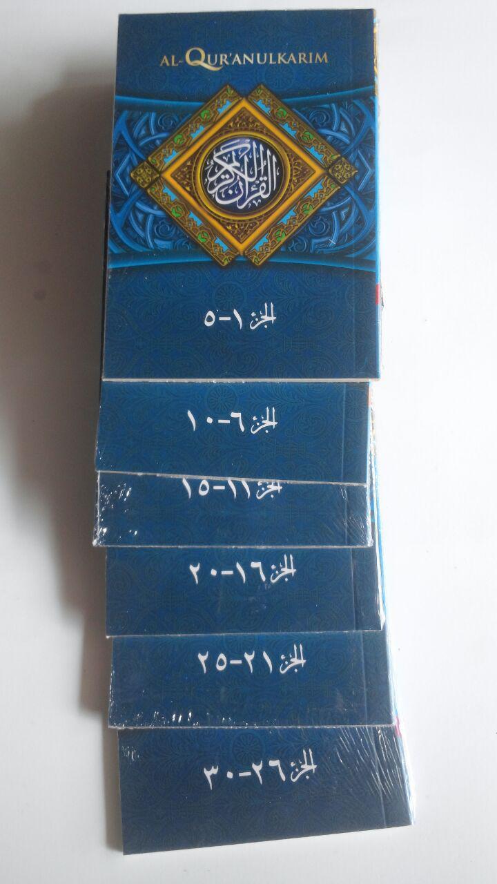 Al-Qur'an Saku Tilawah Tipe Mina Per 5 Juz 69,000 15% 58,650 Sygma Publishing cover
