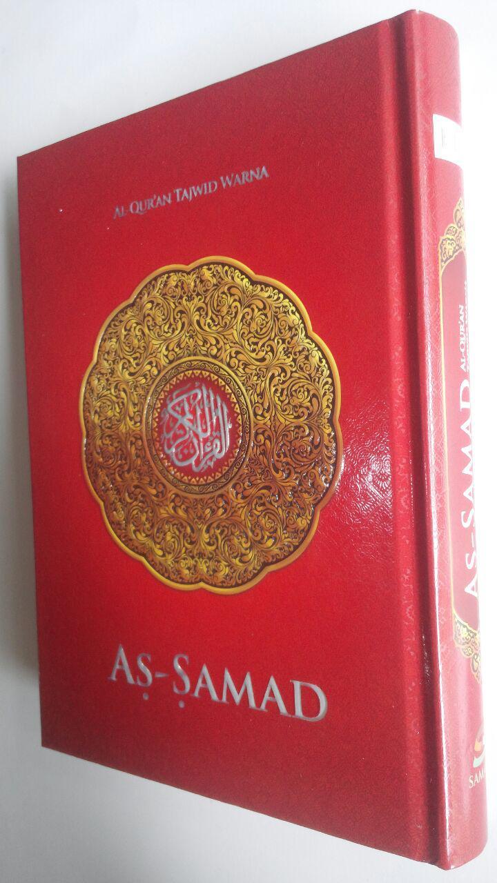 Al-Qur'an Tajwid Warna Tanpa Terjemah As-Samad A5 60,000 15% 51,000 Samad cover 2