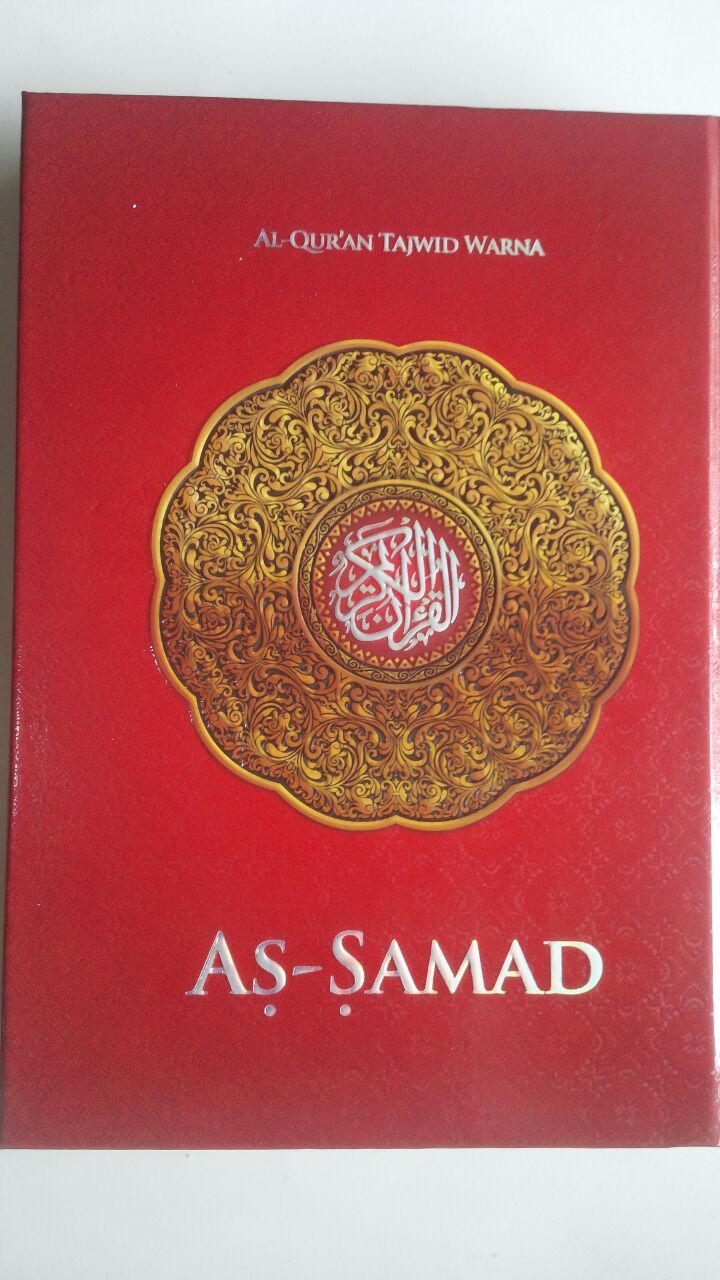Al-Qur'an Tajwid Warna Tanpa Terjemah As-Samad A5 60,000 15% 51,000 Samad cover