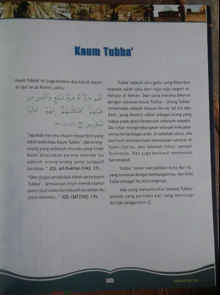 BK2967 Buku Atlas Al-Qur'an 250.000 15% 212.500 Almahira Syauqi Abu Kholil isi 4