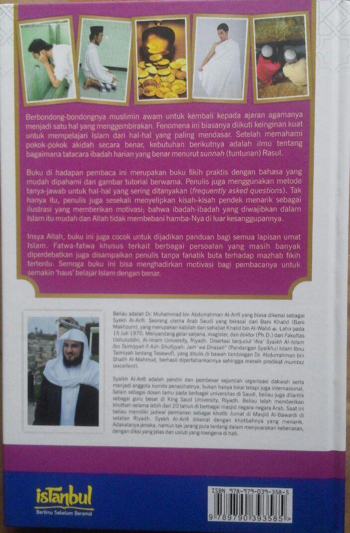 BK2970 Buku Fikih Ibadah Harian Pembahasan Lengkap Ibadah 89.000 20% 71.200 Istanbul Muhammad Al-Arifi cover