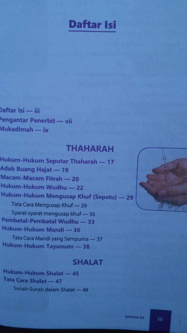 BK2970 Buku Fikih Ibadah Harian Pembahasan Lengkap Ibadah 89.000 20% 71.200 Istanbul Muhammad Al-Arifi isi 3