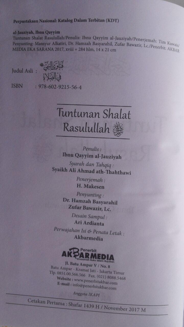 BK2977 Buku Tuntunan Shalat Rasulullah 59,500 20% 47,600 Akbar Media isi