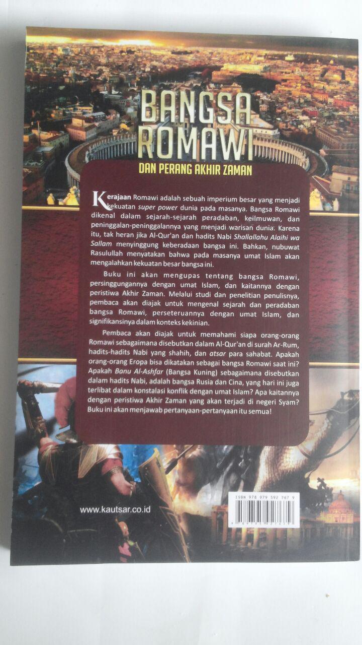 Buku Bangsa Romawi Dan Perang Akhir Zaman 58.000 20% 46.400 Pustaka Al-Kautsar Manshur Abdul Hakim cover