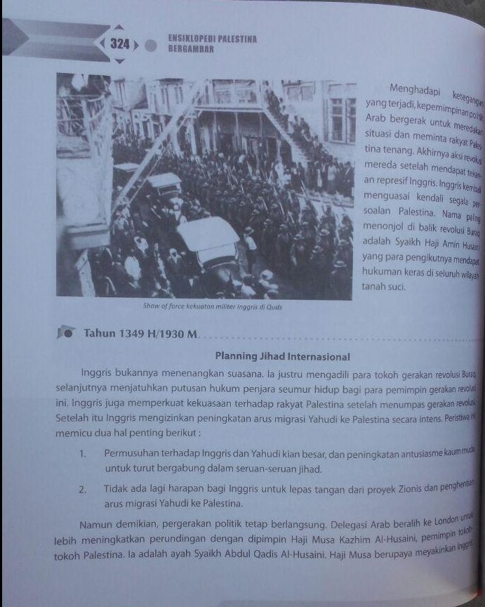 Buku Ensiklopedi Palestina Bergambar 160.000 20% 128.000 Zam Zam Thariq As-Suwaidan isi 3