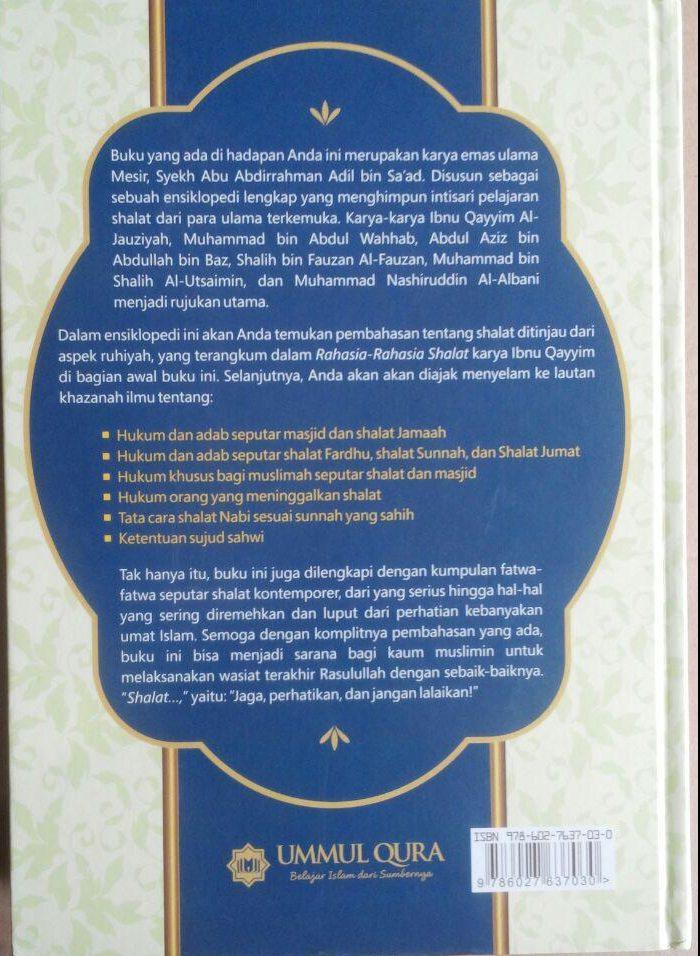 Buku Ensiklopedi Shalat Kumpulan Karya Ulama Terkemuka 129.000 20% 103.200 Ummul Qura Abu Abdirrahman Adil bin Sa'ad cover 2