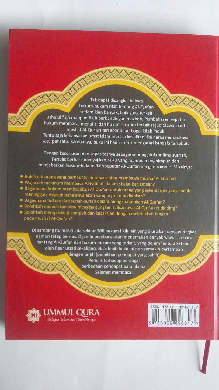 Buku Hukum Fikih Seputar Al-Qur'an 200 Persoalan Khilafiyah 59.000 20% 47.200 Ummul Qura Ahmad Salim cover