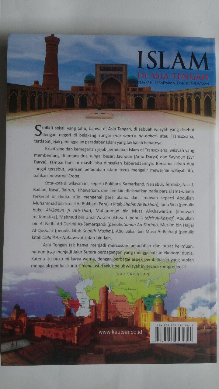 Buku Islam Di Asia Tengah Sejarah Peradaban Dan Kebudayaan 78.000 20% 62.400 Pustaka Al-Kautsar Muhammad Abdul Adzim cover
