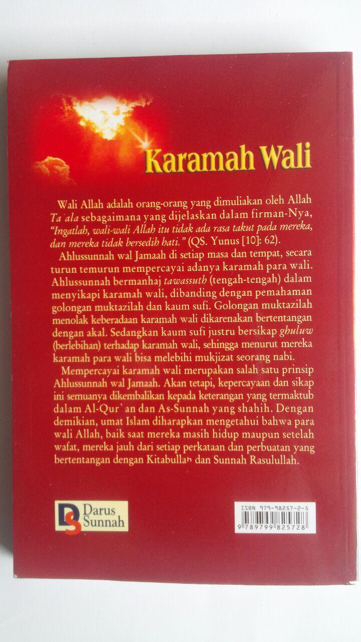 Buku Karamah Wali Menurut Pandangan Ahlussunnah Wal Jamaah 34,000 15% 28,900 Darus Sunnah cover