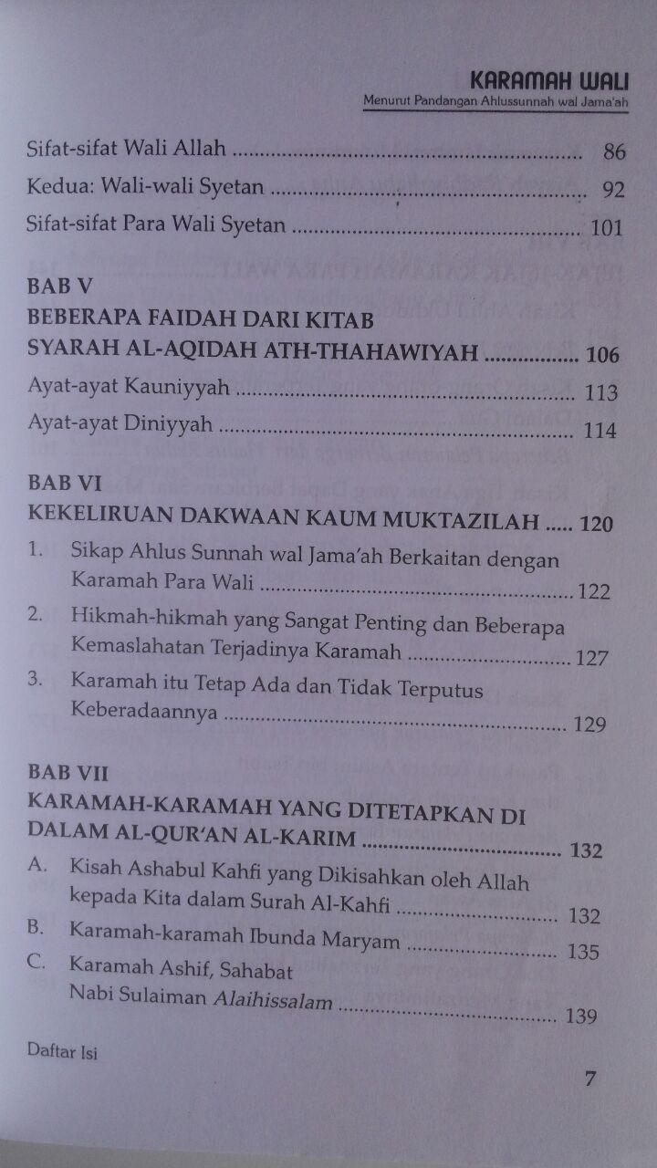 Buku Karamah Wali Menurut Pandangan Ahlussunnah Wal Jamaah 34,000 15% 28,900 Darus Sunnah isi 2