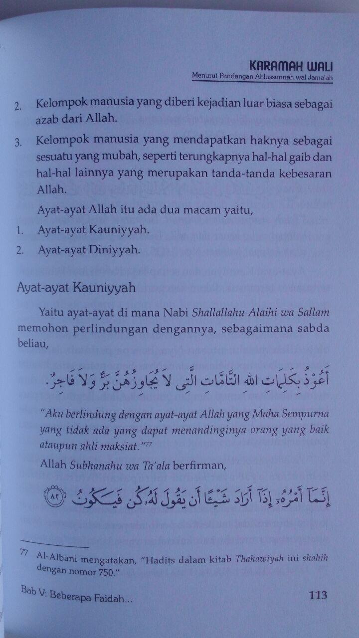 Buku Karamah Wali Menurut Pandangan Ahlussunnah Wal Jamaah 34,000 15% 28,900 Darus Sunnah isi 3