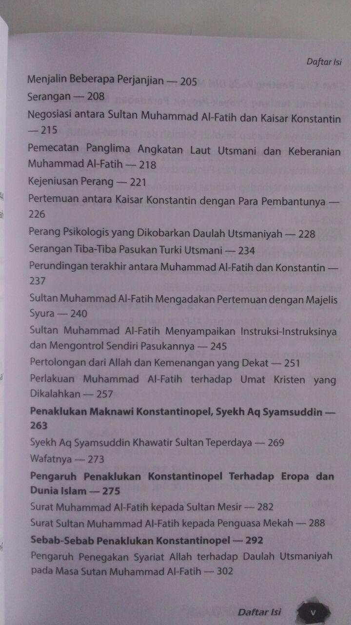 Buku Muhammad Al-Fatih Sang Penakluk Yang Diramalkan 69.000 20% 55.200 Aqwam Ali Muhammad Ash-Shallabi isi