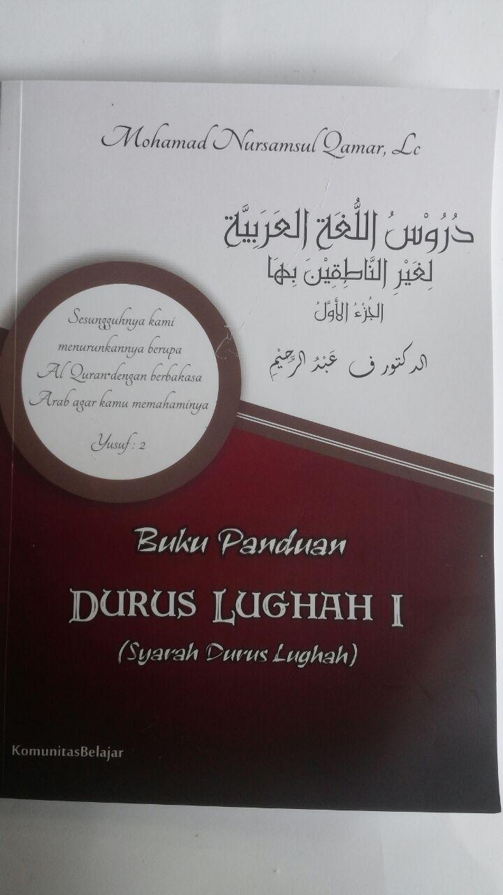 Buku Panduan Durus Lughah 1 Syarah Durusul Lughah 90,000 10% 81,000 Komunitas Belajar cover 3