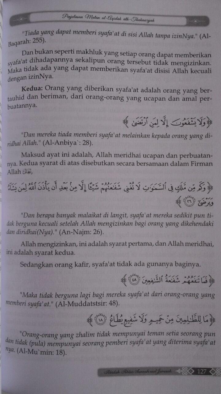 Buku Penjelasan Matan Aqidah Thahawiyah Akidah Ahlussunnah 60,000 20% 48,000 Darul Haq isi 3